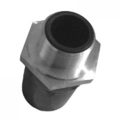 Адаптер ПЭ/сталь с наружной резьбой