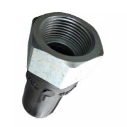 Адаптер ПЭ/сталь с внутр. резьбой