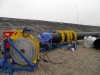 Аппарат для стыковой сварки полиэтиленовых труб Nowatech ZHCB-1200 (630 - 1200 мм; гидравлический привод)