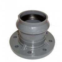 Патрубок ПВХ с фланцем и раструбом 315/300 мм (10 атм)