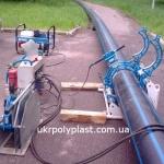 Аппарат для стыковой сварки полиэтиленовых труб Georg Fischer TM250 TOP