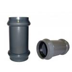 Муфта ПВХ напорная раструбная 160 мм (10 атм)