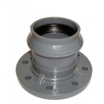 Патрубок ПВХ с фланцем и раструбом 225/200 мм (10 атм)