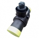 Кран шаровый полиэтиленовый 90 мм ПЭ100 SDR11