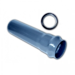 Труба ПВХ водопроводная напорная 110 мм SDR 26 (10 атм)